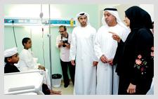 Opening of Thalassemia Center in Fujairah - October 2011